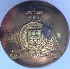 Royal 22nd (Canadien Francais) Regiment 25mm - 1952-1968 Queen's Crown #4948