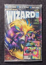 1993 WIZARD Comics Magazine #20 SEALED w/ Promo Card - Sam Kieth Maxx Cover