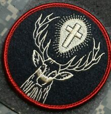 USAF AFSOC COMBAT RESCUE PEDRO PJ MEDICVAC burdock SSI: SAINT HUBERTUS HUBERT