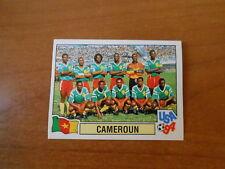 FIGURINA CALCIATORI PANINI USA '94 WORLD CUP - CAMERUN - SQUADRA - N. 142