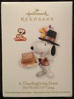 Hallmark Ornament: A THANKSGIVING FEAST - The PEANUTS Gang - Dated 2012