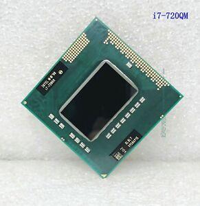 Intel Core i7-720QM quad-core 1.6GHz 6MB 45W notebook processor