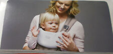 Britax Pack of 2 White Baby Carrier Bibs Extra Large Plush Cotton