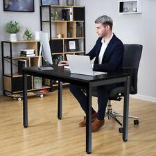 55 Computer Desk Pc Laptop Writing Table Workstation Home Office Furniture Bk