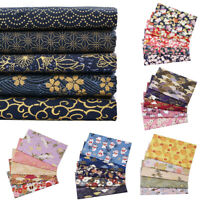 5pcs 20x25cm Cotton Fabric Bundle For Patchwork Sewing Needlework Cloth Material