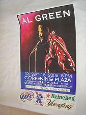 AL GREEN Concert Poster