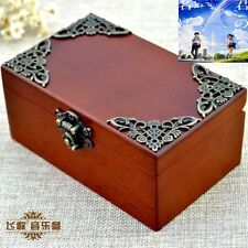 Vintage Wood Rectangle jewelry Music Box : RADWIMPS ' YOUR NAME' THEME SONG