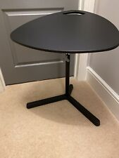 Ikea Small Black Laptop Stand Or Table - Adjustable Height