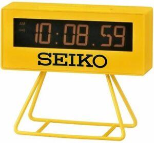 SEIKO Japan Mini Sports Timer Clock Digital SQ815Y From Japan Free Shipping