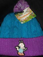 Rocko's Modern Life Nickelodeon 90's Rewind Cartoon Character Pom Beanie Cap Hat