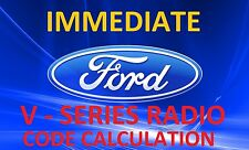FORD V - Series Radio Code - GET it immediately from The Serial Number