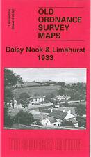 Old Ordnance Survey Map Daisy Nook & Limehurst 1933 Ashton Under Lyne Smallshaw