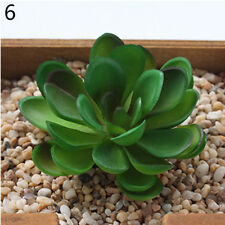 Mini Artificial Succulents Plants Fake Flower Land Lotus for Home Office Decor 1