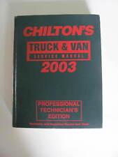 1999- 2003 Chevy Ford RAM Dodge Toyota Pick Up Truck Van Manual 1500 f150 ranger