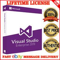 Visual Studio Enterprise/Pro 2019 - Unlimited PC's - Lifetime License