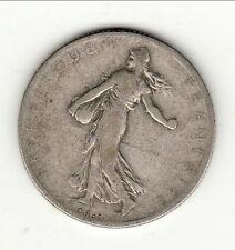 RARE 2 FRANCS ARGENT 1900