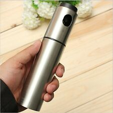Stainless Steel Olive Oil Mist Spray Bottle 135ml - By TRIXES