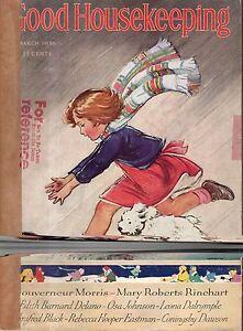 1936 Good Housekeeping March - I had Polio; Mary Roberts Rinehart; Mickey Mouse