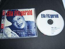 ELLA FITZGERALD The Very Best Of CD album 25trks UK 2000 Pulse/Castle Disc MINT
