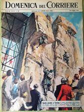 La Domenica del Corriere 26 Maggio 1963 Mazzola Spazio Cooper Glenn Times Torino