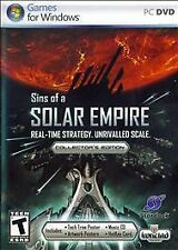 Sins of a Solar Empire Collectors Edition - PC, New Pc, Windows Vista, Windows X