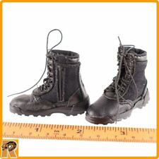 SWAT Takeshi Yamada - Boots (for Feet) - 1/6 Scale - DID Action Figures