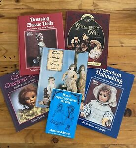 Doll Collector x 6 Making And Dressing Doll Books