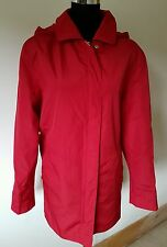 BHS RED Light padded hooded Jacket UK size 14 / L , euro 42
