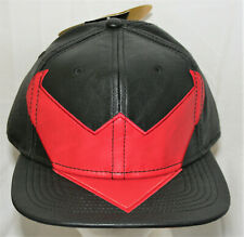 DC Comics Nightwing Logo Leather Like Baseball Cap Hat New 2016 Batman