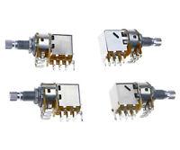 A500k B500k A250k B250K ohm 18mm Split Shaft Guitar Potentiometer Control Switch