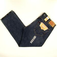 Levis 501 Jeans Original  New Mens Size 42 x 32 DARK BLUE WITH FADE Levi's NWT