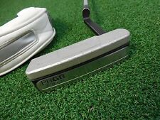 "USED PRGR SILVER BLADE 01LN LONG NECK 34"" PUTTER W/COVER PRGR JAPAN PUTTER"