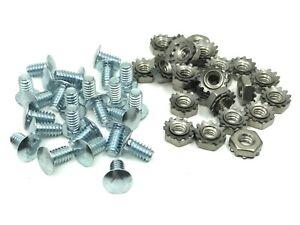 """25 pcs Chevy Belair Chevelle Impala Nova grille rivets screws nuts 10-24 x 3/8"""""""