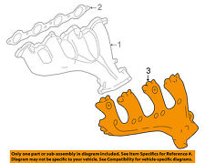 GM OEM Manifold-Exhaust-Heat Shield Left 12562243