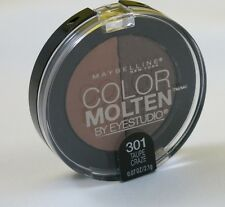 New Maybelline Color Molten Eye Studio Duo Eye Shadow-301 Taupe