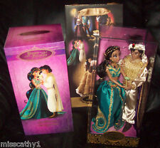 Princess Jasmine and Aladdin Disney Fairytale Designer Collection Doll Set
