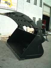 2 m3 Telehandler Waste Clamp loading shovel bucket