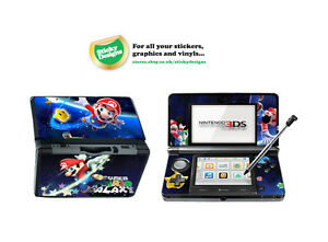 Super Mario Vinyl Skin Sticker for Nintendo 3DS