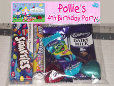 12 Personalised Birthday Party Lolly Bags - Ben and Holly Little Kingdom Print