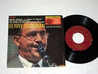 45RPM EP W/JACKET Benny Goodman COLUMBIA HALL OF FAME