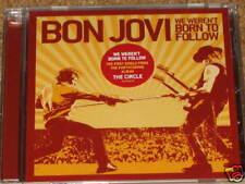 BON JOVI - We Weren't Born To Follow - 1 Track DJ CD! NEW! RARE! OOP!