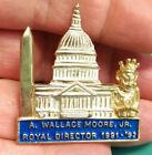 ROYAL ORDER OF JESTERS lapel pin, A Wallace Moore 1992, ROJ Washington DC pin
