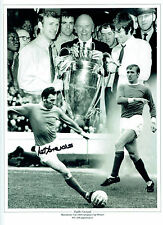 Paddy Pat CRERAND Manchester Utd Signed Autograph16x12 Montage Photo AFTAL COA