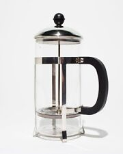 French Press Coffee Tea Maker 34 oz 8-Cup Pot Glass & Stainless Steel Flavor NEW