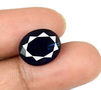 3.15 Ct Blue Sapphire 11 x 9 mm Loose Gemstone Natural Oval Cut AGSL Certified