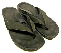 Abeo Balboa Womens Size 8.5M Black Thong Sandals Flip Flop Slippers Slides Shoes