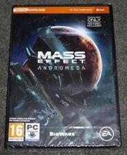 Neuf Mass Effect Andromède-EA GAMES-téléchargement numérique Boîtier DVD-Boîte scellée