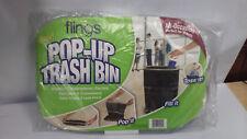 Flings Pop-up Trash Bin - Lot of 3
