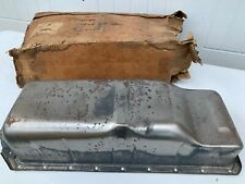 "1935-36 GM Oil Pan (All) 23 Hole w/Pipes and Troughs ""NOS"""