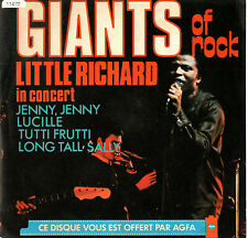 LITTLE RICHARD  /  CARL PERKINS  45t  PROMO  AGFA  'GIANTS OF ROCK'  [France]